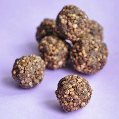 Puffed Quinoa Balls. ..