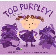 Too Purpley!  No Way!!!