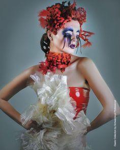 Elastic. Hairdressing and Makeup: Rafaelangel Peluqueros. Photo: David Arnal. Styling: Visori Fashionart. Schwarzkopf Professional. #hairdressing