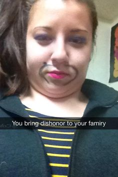 I think my friend finally lost it during finals. Just got this SnapChat... - Imgur