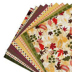 Thanksgiving Bountiful Blessings Designer Cardstock Paper