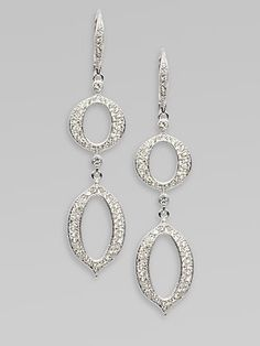 Show off these gorgeous Adriana Orsini drop earrings with a fabulous up-do