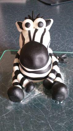 Fondant-Zebra