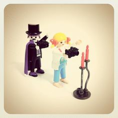 #playmobil #doll #camera #instagram #Dracula, via Flickr.