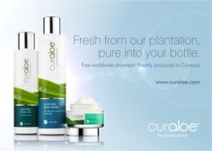 From plant to bottle to you! www.curaloe.com