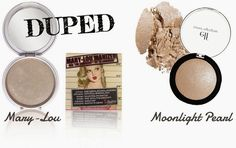 theBalm's Mary-Lou Manizer Highlight & Drugstore Dupe