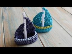 How to Crochet a Boat - YouTube