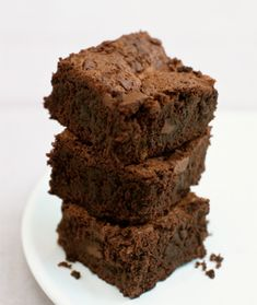 Black Bean Brownies.  I was so skeptical, but I just made these with my kids and am shocked at how good they are!  Chocolatey flavor and airy texture-- but not at all too sweet!  Bake for a full 45 minutes.