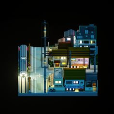 50 Best Voxel Art images in 2017 | Isometric art, Game