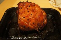 A delicious recipe for a honey & marmalade glazed ham / gammon that i have used many times. The Honey & Marmalde glaze is very sweet, but it won't be overpowering. Boiling the Ham / Gammon first will ensure it stays really juicy and succulent and absorb the flavours in the liquor and then roasting it with the Honey & Marmalade glaze will add loads of sweet, delicious flavour to it.