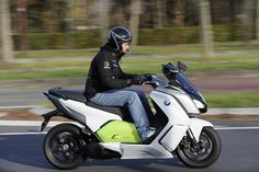 Le scooter électrique BMW C Evolution à l'essai