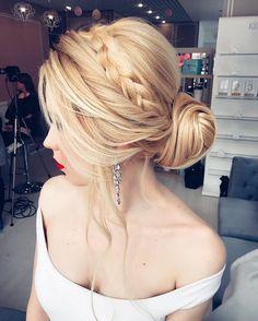 Cute hairstyles for long hair #hairstyle #hair #promhair #weddinghair #hairstyles