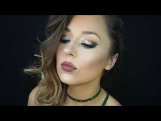 Night Out Glittery Smokey Eye Makeup Tutorial | Erica Gamby - YouTube