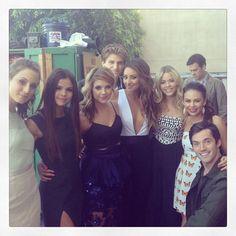 PLL Cast with Selena Gomez!