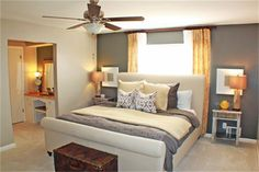I would love for my master bedroom to have this layout!