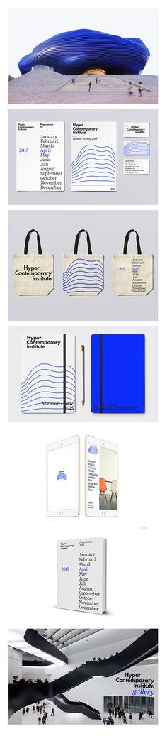 Hyper Contemporary Institute > id. Brand Identity Design, Graphic Design Branding, Corporate Design, Corporate Identity, Visual Identity, Typography Design, Logo Design, Event Branding, Marketing Branding