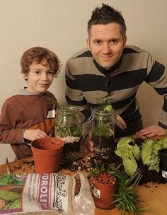Capturing the great outdoors A terrarium is the perfect half term project for bottled-up kids