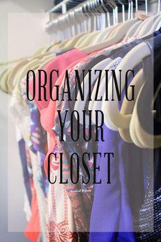 Organizing Master Closet // Modish and Main