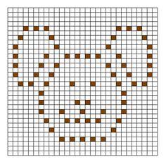 Ravelry: Bunny Bobble Chart pattern by Kari Philpott