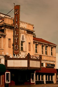 The Rialto Theater in South Pasadena, CA.. on Historic Route 66 ~
