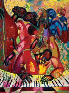 MusicFest Fine Art Print - Larry Poncho Brown