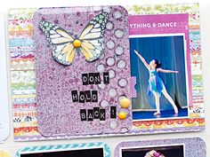 Heather Greenwood | Project Life journal card using Juggling Act by Sweet Stamp Shop | mini art journal, mixed media card
