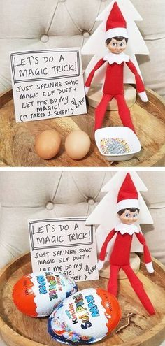 of the Best Elf on the Shelf Ideas Elf Dust - Over 40 of the BEST Elf on the Shelf ideas!<br> Over 40 of the BEST Elf on the Shelf ideas! Such a fun Christmas tradition that the kids just and these ideas are so fun and cute! Fun Christmas, Xmas Elf, All Things Christmas, Holiday Fun, Christmas Decorations, Festive, Charlie Brown Christmas, Christmas Carol, Awesome Elf On The Shelf Ideas