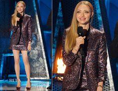 Amanda Seyfried In Saint Laurent – MTV Movie Awards 2014
