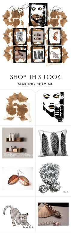 """Unique Holiday Gifts"" by therusticpelican ❤ liked on Polyvore featuring Del Gatto and rustic"