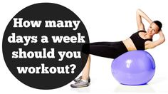 Just love Jessica Smith.   Always common sense advice. How Many Days A Week Should You Workout To Lose Weight?