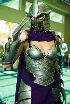 Fem Shredder cosplay - ComicCon 2014 Day 1 #SDCC2014 #Rule63