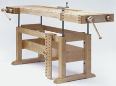 adjustable woodworking bench