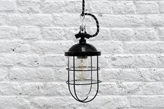 miner's lamp, mining lamp, historic lighting, vintage industrial lighting | Zangra.com
