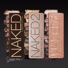 Urban Decay | Naked 1, 2 & 3