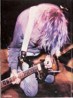 Blue/purple-haired Kurt❤️❤️❤️