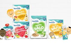 Organic children's food brand Heavenly launches new healthy snacks - Baby Packaging - Healthy Food Options, Healthy Kids, Healthy Snacks, Packaging Snack, Food Packaging Design, Organic Packaging, Food Branding, Benefits Of Organic Food, Organic Superfoods
