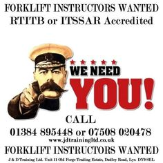 Forklift Instructors Wanted:goto http://ift.tt/2lKxcik for more info #jobsearch #training #safety