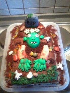 #Zombie Torte #Halloween