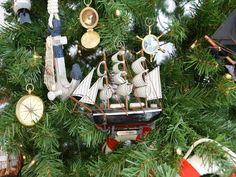 Star+of+India+Model+Ship+Christmas+Tree+Ornament+from+Handcrafted+Nautical+Decor+-+In+stock+and+ready+to+ship
