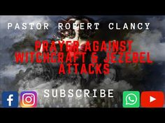 PRAYERS AGAINST WITCHCRAFT & JEZEBEL ATTACKS - YouTube Powerful Prayers, John 8, Christian Prayers, Power Of Prayer, Trust Me, Warfare, Demons, Witchcraft, Lust