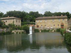 bagno vignoni - San Quirico d'Orcia SIENA