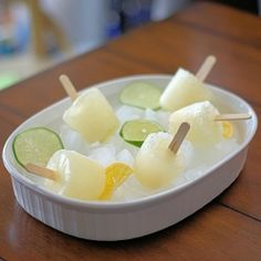 Margarita Ice Pops: These margaritas really are frozen!