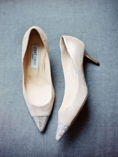 Suede shoes: http://www.stylemepretty.com/2014/11/04/elegant-winter-wedding-in-vail-at-the-sebastian/ | Photography: Brumley & Wells - http://brumleyandwells.com/