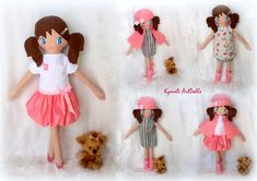 Doll for hugs and play . Soft Dolls, Hugs, Doll Clothes, Mary, Photo And Video, Videos, Handmade, Instagram, Big Hugs