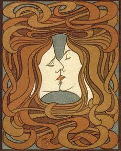 THE KISS - Peter Behrens