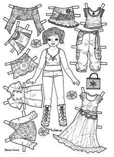 Karen`s Paper Dolls: Malene