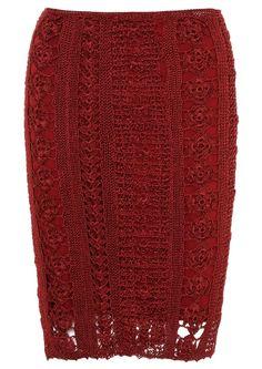 Crochet midi skirt - Almasanta