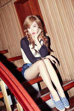 "Girls' Generation TaeTiSeo 2nd mini album ""Holler"" #snsd Tiffany"