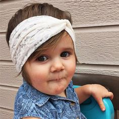 Cheap knotted turban headband, Buy Quality baby headband directly from China turban headband Suppliers: 1 PC Newborn Girls Top knot Turban Headband Cute Kids Lace Bow Hair Accessories Elastic Hair Bands Head Wraps Headband Head Wrap Headband, Turban Headbands, Floral Headbands, Baby Headbands, Hair Band For Girl, Lace Bows, Elastic Hair Bands, Hair Ornaments, Top Knot