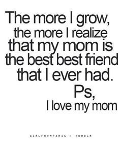 a message like this would be super cute on the inside page of a mother's day photo book!